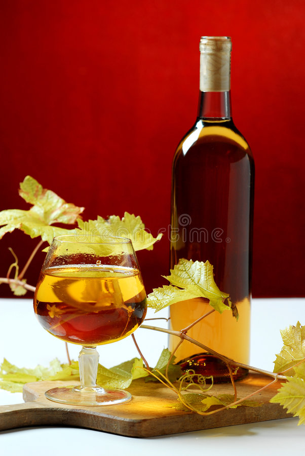 butelki szkła wino obraz royalty free