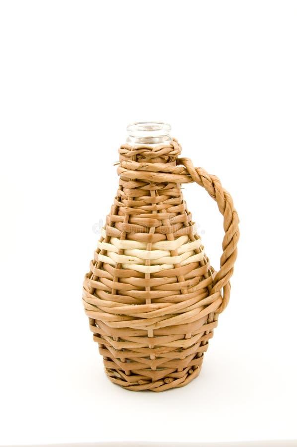Butelki szkła weave wicker
