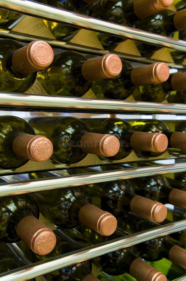 butelki wina obrazy stock