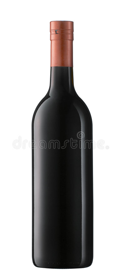 butelki wina fotografia stock