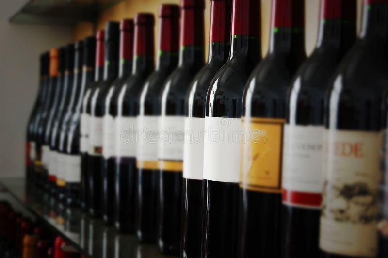 butelki wino fotografia royalty free
