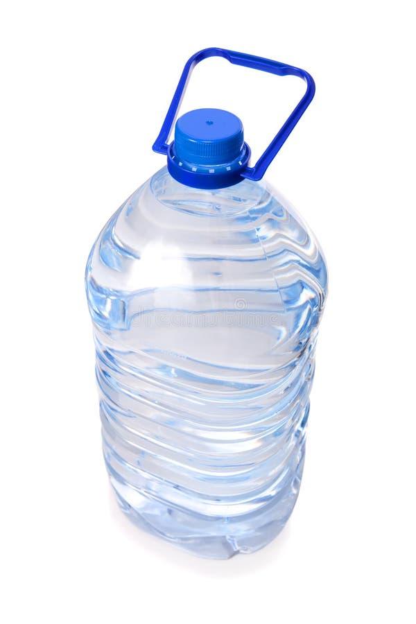 butelki woda mineralna odosobniona wielka fotografia stock
