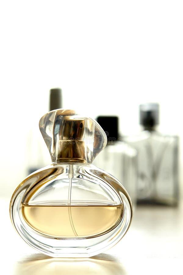butelki wody kolońskiej obraz royalty free