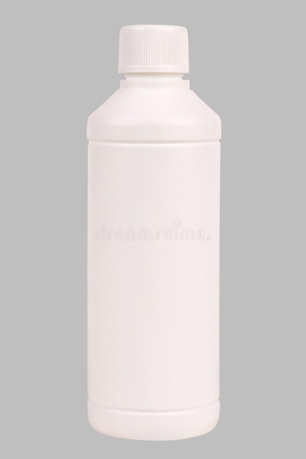 butelki z tworzywa sztucznego white obraz stock