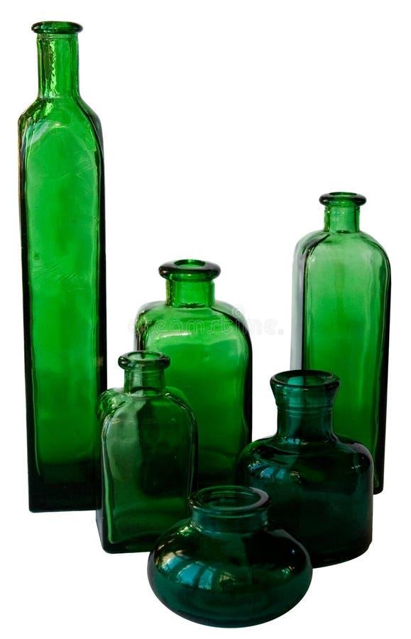 Download Butelki zieleń zdjęcie stock. Obraz złożonej z odbicie - 13337010