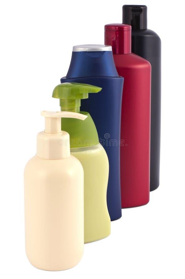 butelkuje kosmetyka diffenend obrazy stock
