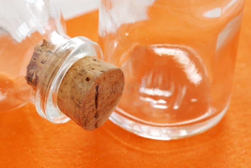 butelkuje szkło dwa fotografia stock
