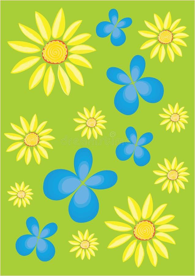 Buterflies blu fotografie stock