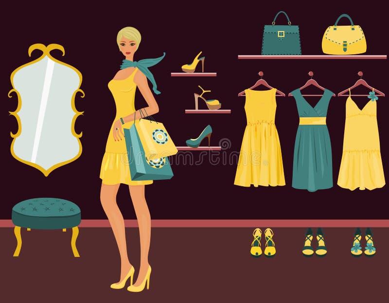 butik ilustracja wektor