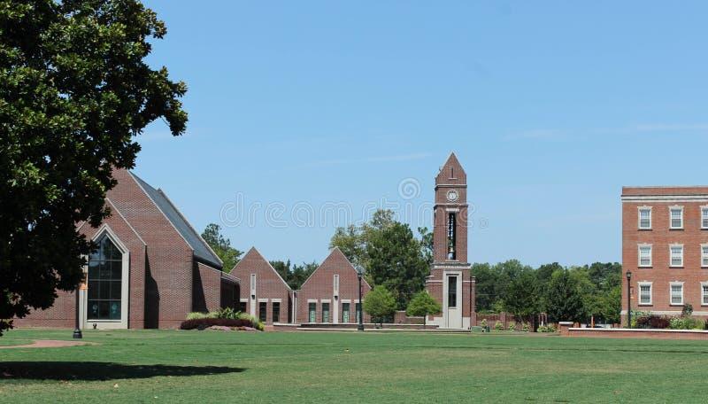Butler Chapel y Taylor Divinity School foto de archivo