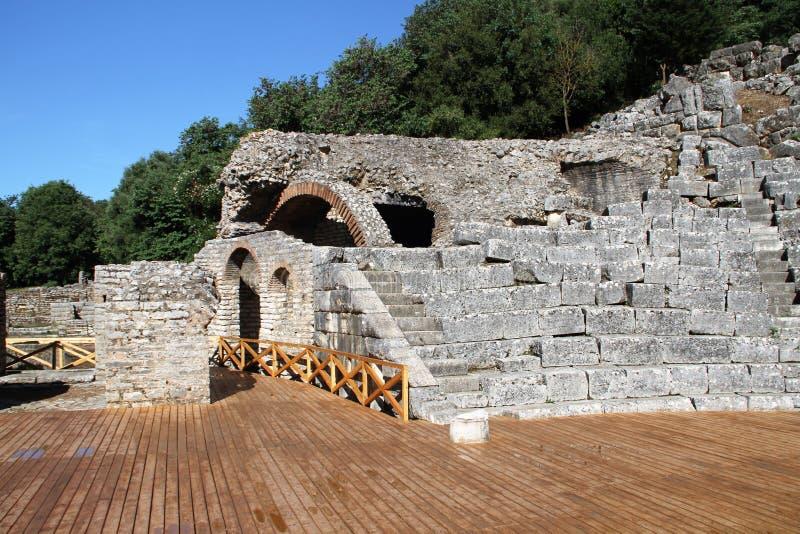 Butrint - Albânia imagens de stock