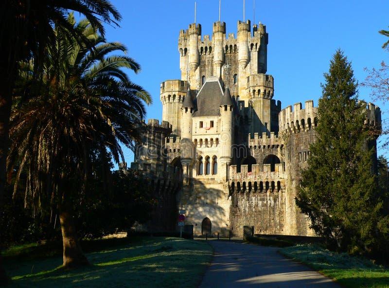 Butroiko gaztelua , Gatika ( Basque Country ) royalty free stock images