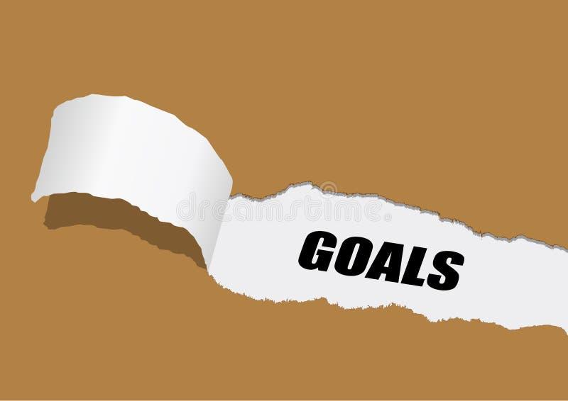 buts illustration de vecteur