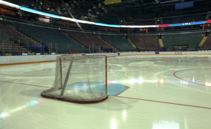 buts d'hockey image libre de droits
