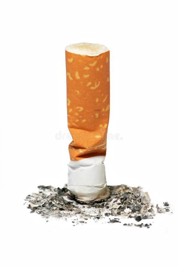 buttcigarett royaltyfri fotografi