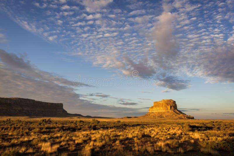 Butte Fajada стоковое фото