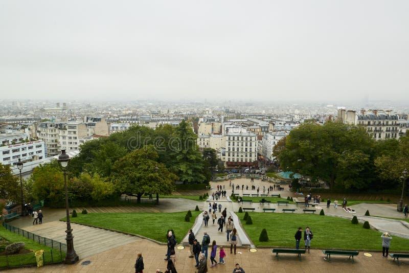 Butte Montmartre royalty-vrije stock afbeelding