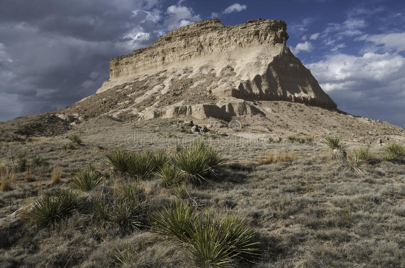 Butte occidentale de Pawnee photos libres de droits