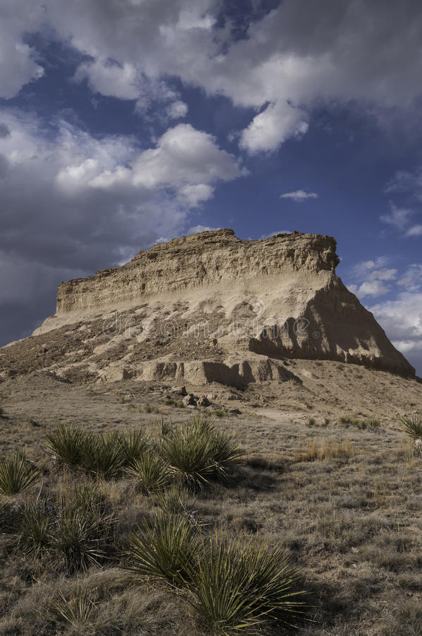 Butte occidentale de Pawnee photo libre de droits