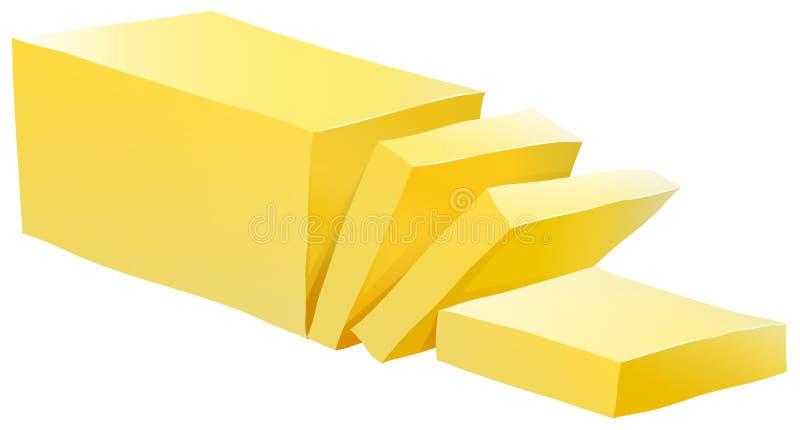 Butter stock abbildung
