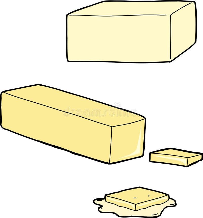 Butter Cartoons stock vector. Illustration of melting ...