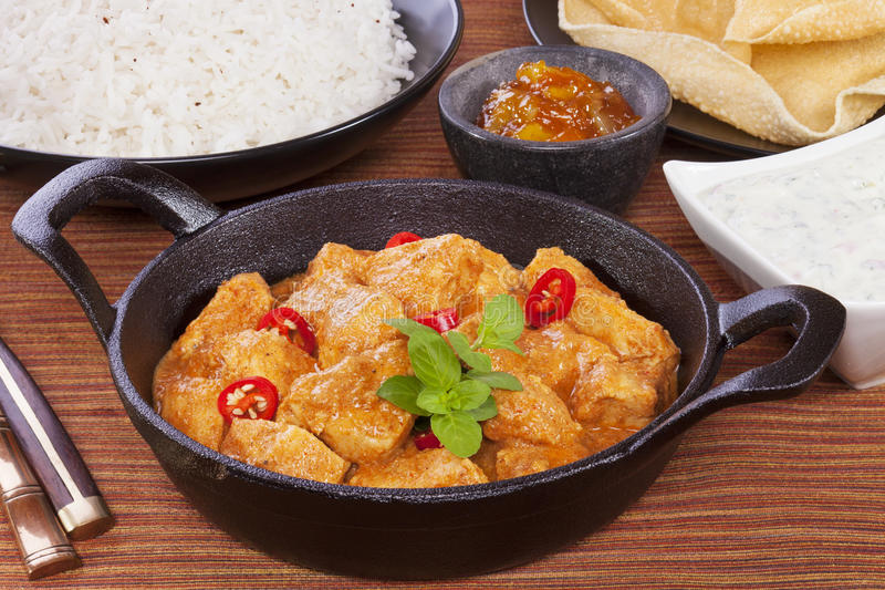 Butter chicken curry stock photo image of cucumber - Herve cuisine butter chicken ...
