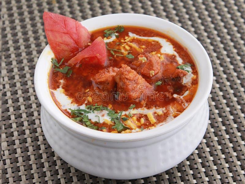 Butter chicken masala curry. A creamy yet spicy chicken dish. stock photos