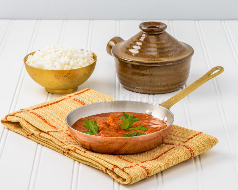 Butter Chicken royalty free stock photos