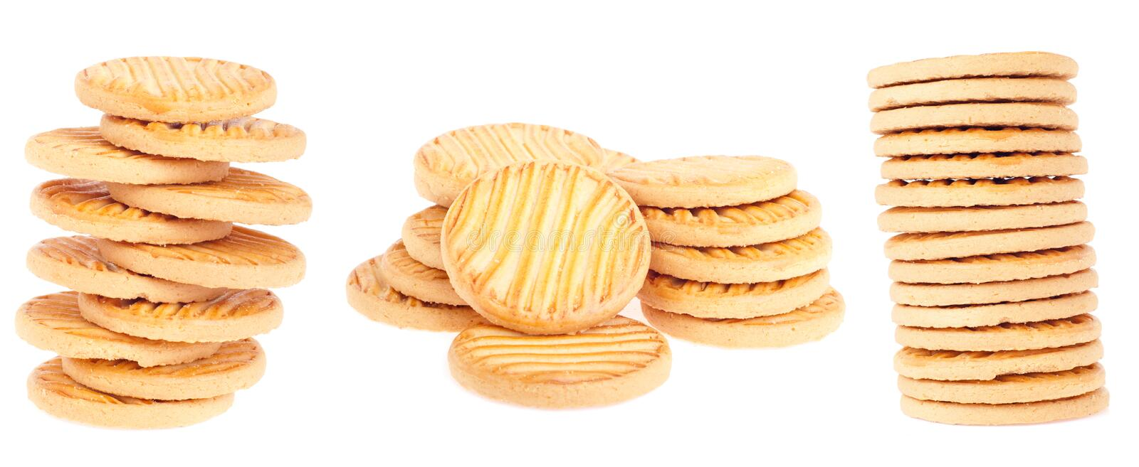 Download Butter cookies stock photo. Image of indulgence, fattening - 19656278