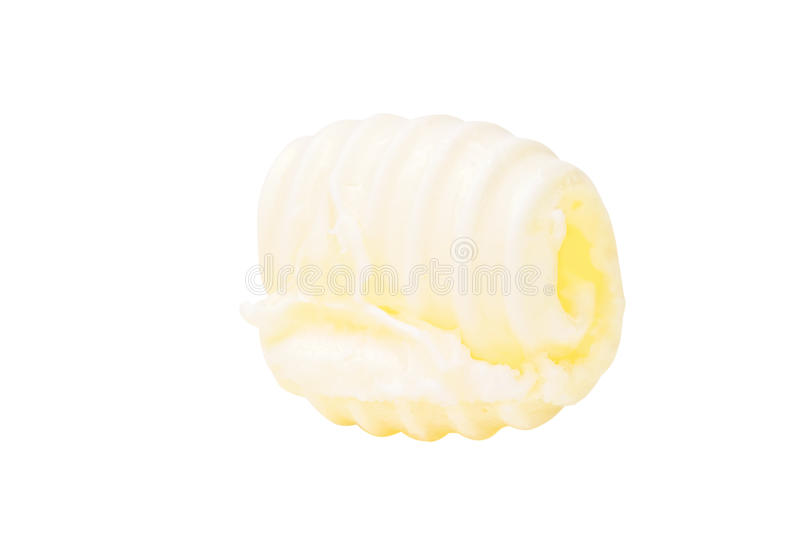 Butter curl stock photography