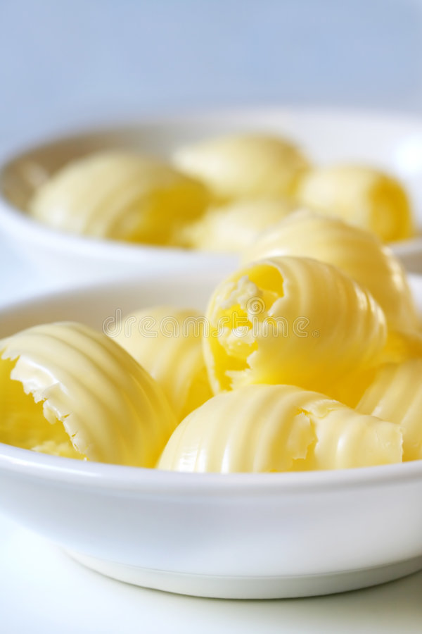 Butter Curls royalty free stock photography