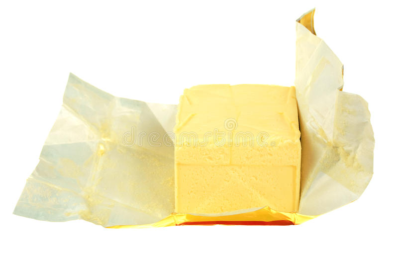 Download Butter in paper stock photo. Image of slice, paper, pack - 13982664