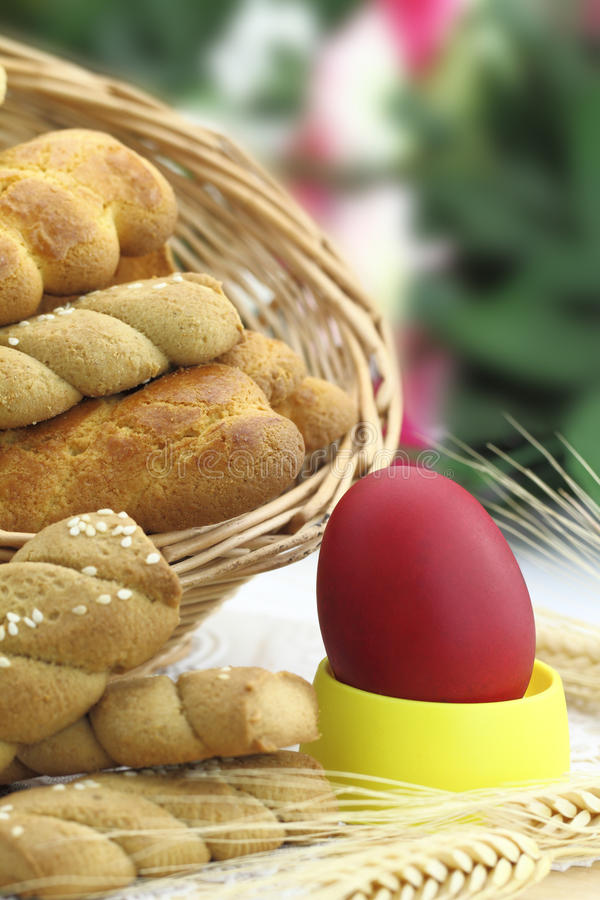 Download Butter Shortbread And Easter Egg Stock Photo - Image: 24518646
