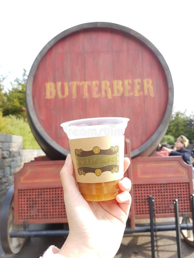 Butterbeer au studio universel Japon image stock