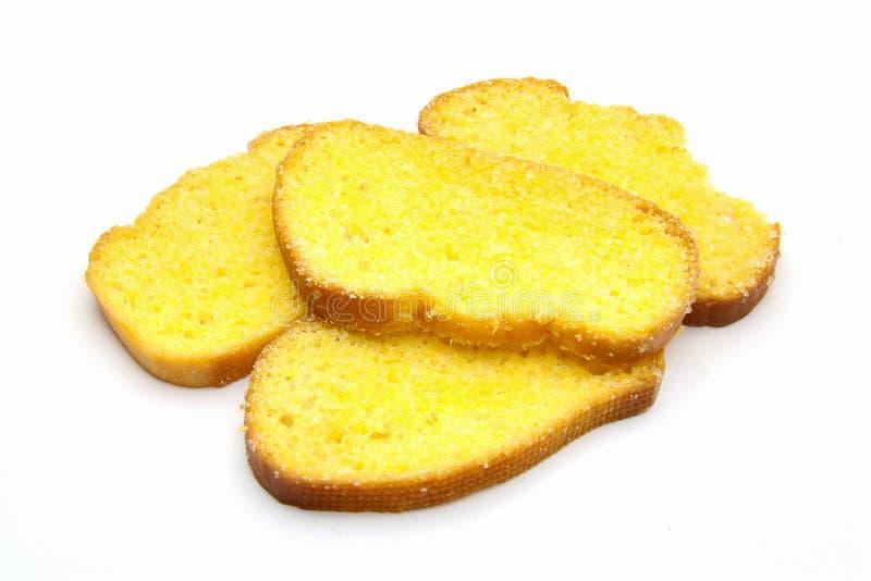 Butterbrottoast stockbild