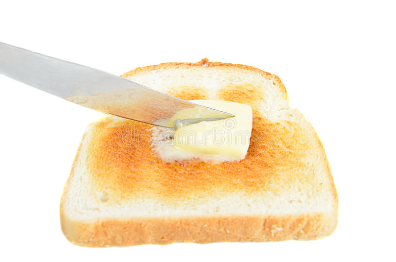 Buttered Toast Stock Images