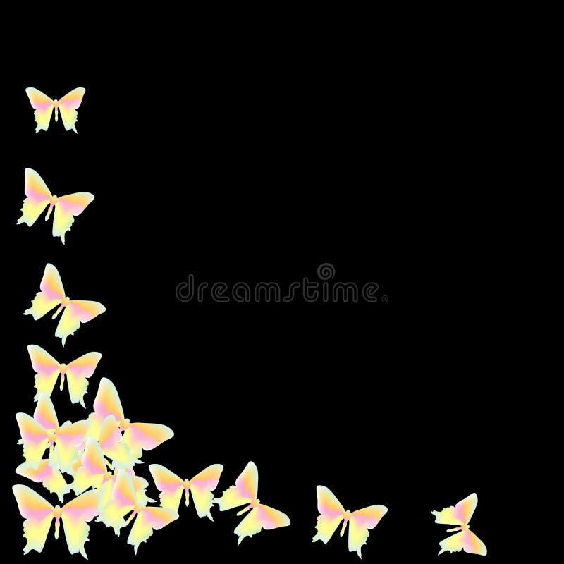 Butterflie stock abbildung