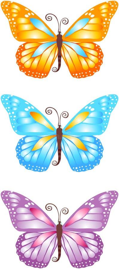 Butterflies stock images
