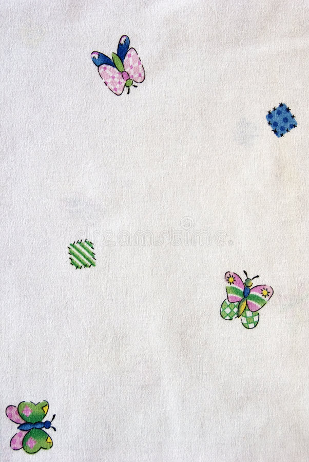 Butterflies Cloth royalty free stock photo