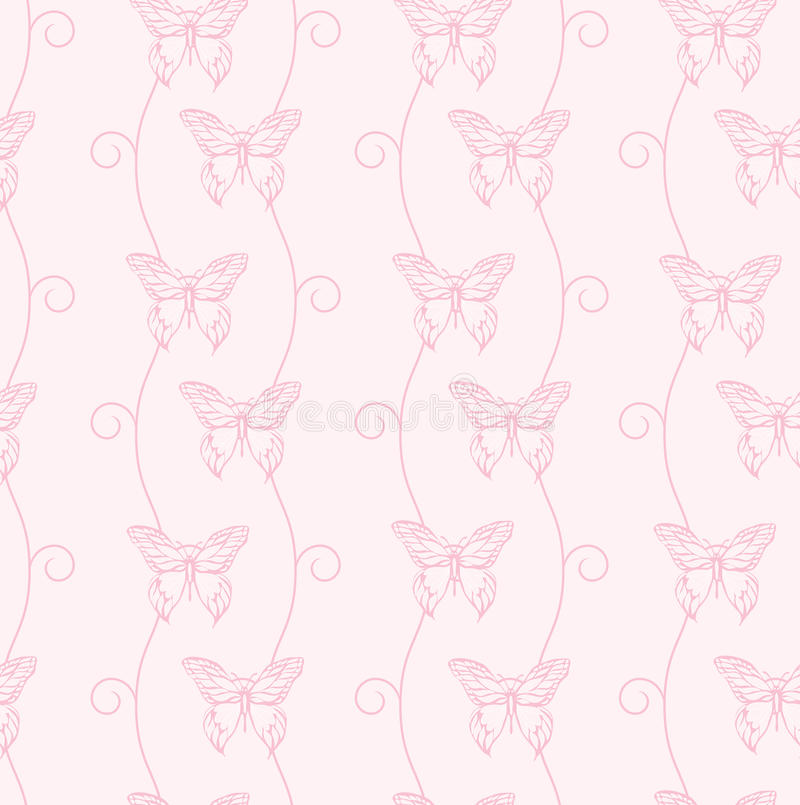 Download Butterflies & Swirls Royalty Free Stock Images - Image: 13342739