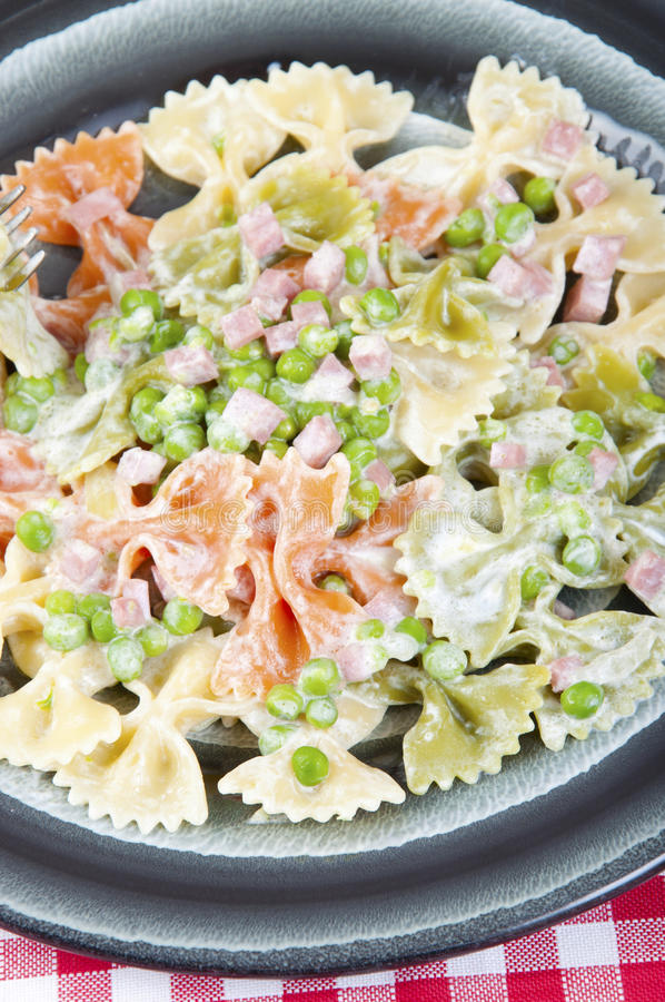 Download Butterflies Tricolor With Peas And Ham Stock Image - Image: 25171091