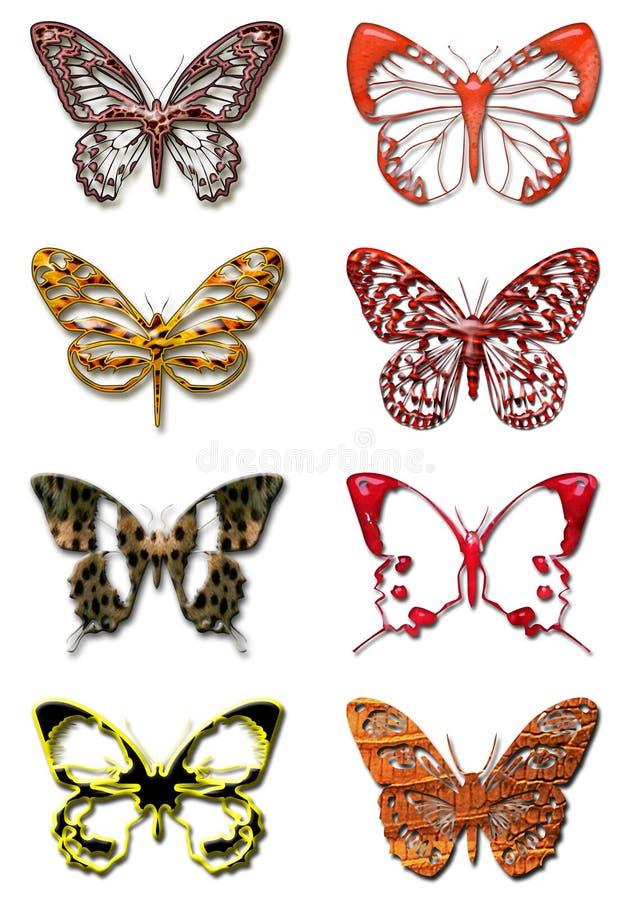Butterfly 1 vector illustration