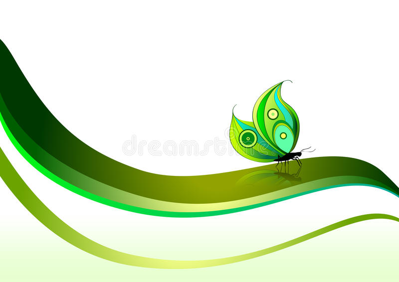 Download Butterfly stock vector. Image of nature, creative, illustration - 11371065