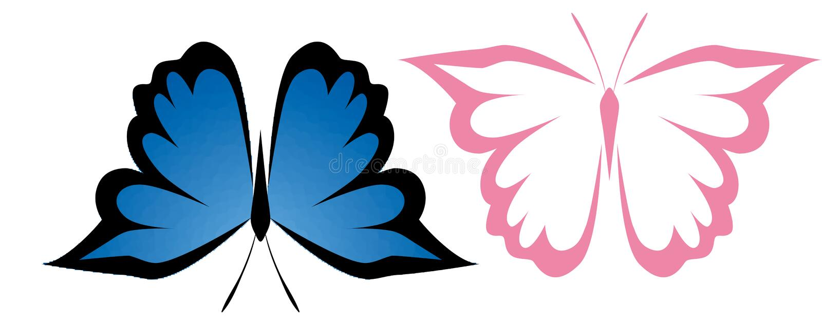 Download Butterfly stock image. Image of simple, logo, insect - 13165489