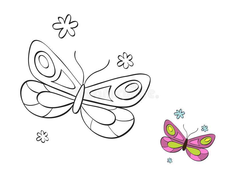 Download Butterfly 3 stock vector. Illustration of butterfly, creative - 9702255