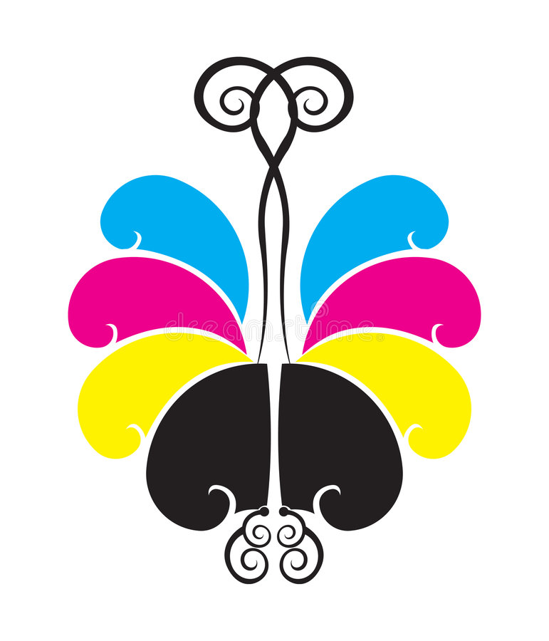 Download Butterfly stock vector. Illustration of colours, tint - 3273118