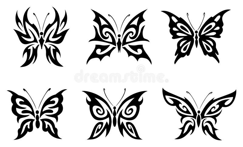 Download Butterfly stock vector. Image of design, nature, vector - 4367069