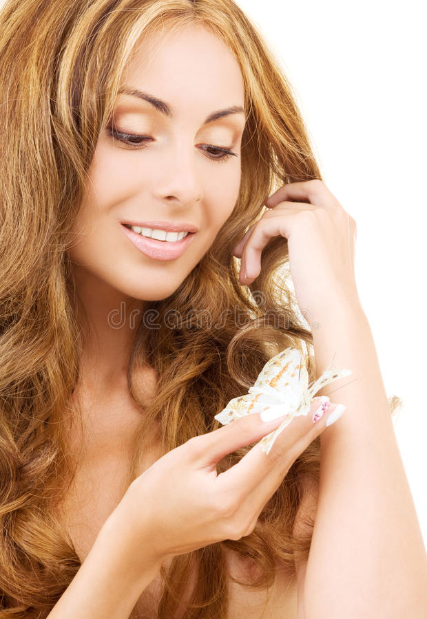 Download Butterfly stock image. Image of hair, health, charming - 9510187