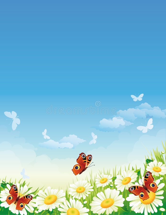 Free Butterfly And Flowers Stock Photos - 4282593