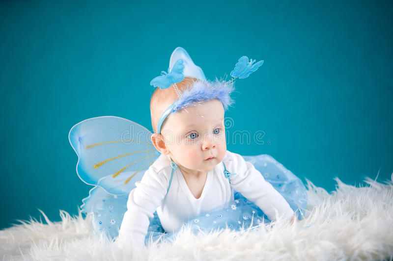 Download Butterfly Baby Royalty Free Stock Photography - Image: 28392547
